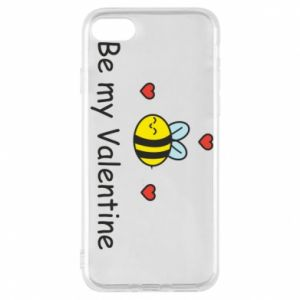 Etui na iPhone 7 Pszczoła i serce