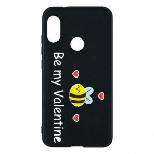Etui na Mi A2 Lite Pszczoła i serce
