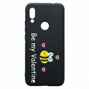 Etui na Xiaomi Redmi 7 Pszczoła i serce