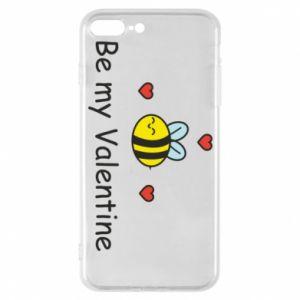 Etui na iPhone 7 Plus Pszczoła i serce