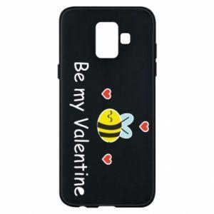 Etui na Samsung A6 2018 Pszczoła i serce