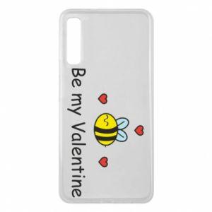 Etui na Samsung A7 2018 Pszczoła i serce
