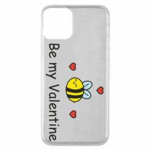Etui na iPhone 11 Pszczoła i serce