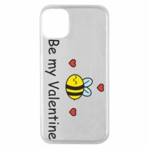 Etui na iPhone 11 Pro Pszczoła i serce