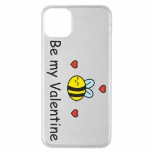 Etui na iPhone 11 Pro Max Pszczoła i serce