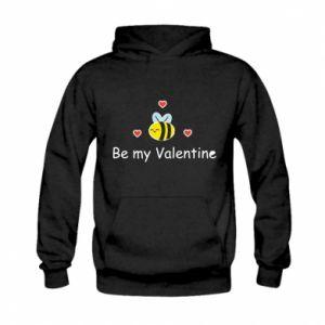 Bluza z kapturem dziecięca Pszczoła i serce