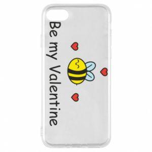 Etui na iPhone 8 Pszczoła i serce