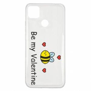 Etui na Xiaomi Redmi 9c Pszczoła i serce