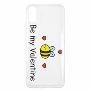 Etui na Xiaomi Redmi 9a Pszczoła i serce