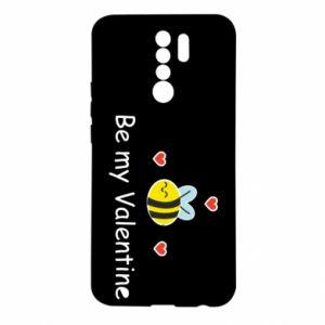Xiaomi Redmi 9 Case Bee and hearts