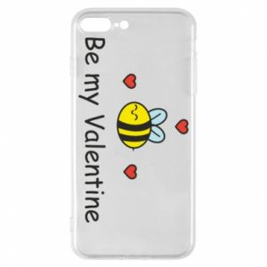 Etui na iPhone 8 Plus Pszczoła i serce