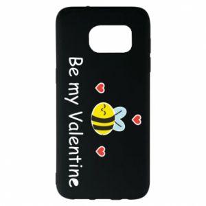 Etui na Samsung S7 EDGE Pszczoła i serce