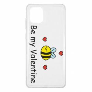 Etui na Samsung Note 10 Lite Pszczoła i serce