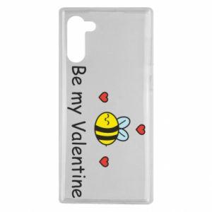 Etui na Samsung Note 10 Pszczoła i serce