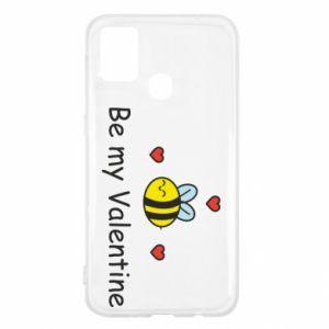 Etui na Samsung M31 Pszczoła i serce