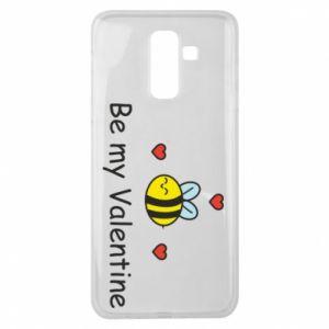 Etui na Samsung J8 2018 Pszczoła i serce