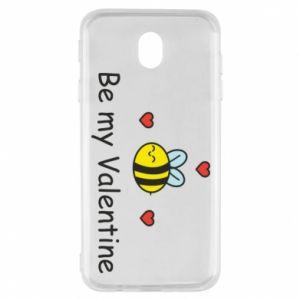 Etui na Samsung J7 2017 Pszczoła i serce