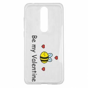 Etui na Nokia 5.1 Plus Pszczoła i serce