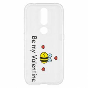 Etui na Nokia 4.2 Pszczoła i serce