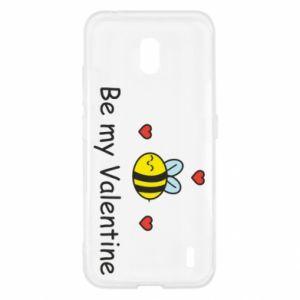 Etui na Nokia 2.2 Pszczoła i serce