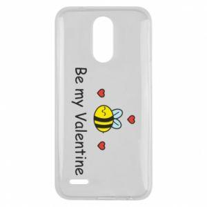 Etui na Lg K10 2017 Pszczoła i serce