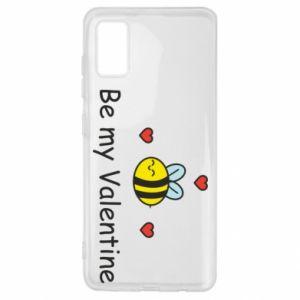 Etui na Samsung A41 Pszczoła i serce