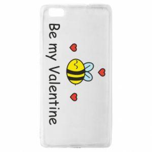 Etui na Huawei P 8 Lite Pszczoła i serce