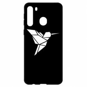 Samsung A21 Case Bird