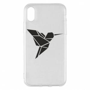 Etui na iPhone X/Xs Ptak