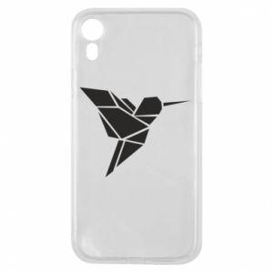 Etui na iPhone XR Ptak
