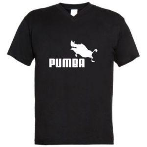 Męska koszulka V-neck PUMBA