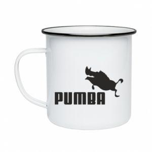 Enameled mug PUMBA