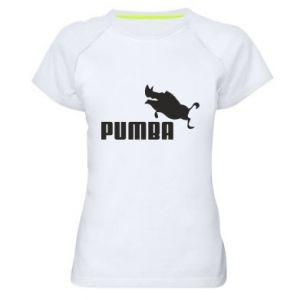 Women's sports t-shirt PUMBA