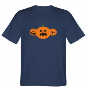 T-shirt Pumpkins with scary faces