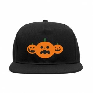 SnapBack Pumpkins with scary faces - PrintSalon