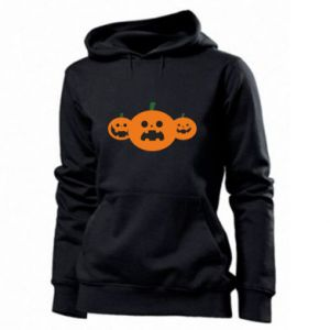 Women's hoodies Pumpkins with scary faces