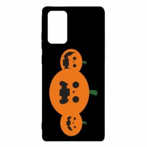 Etui na Samsung Note 20 Pumpkins with scary faces