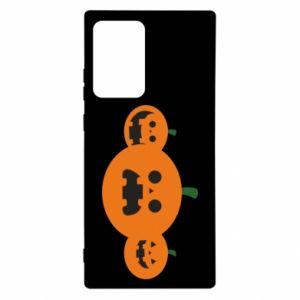 Etui na Samsung Note 20 Ultra Pumpkins with scary faces