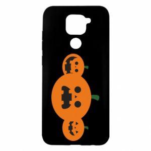 Etui na Xiaomi Redmi Note 9/Redmi 10X Pumpkins with scary faces