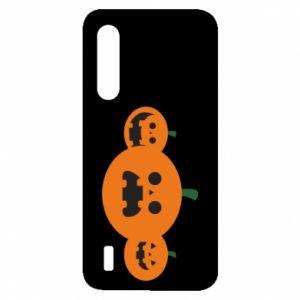 Etui na Xiaomi Mi9 Lite Pumpkins with scary faces