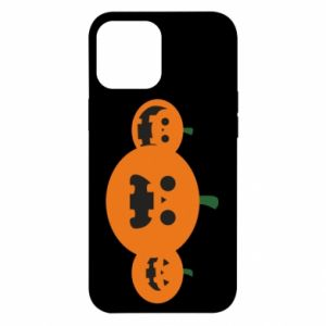 Etui na iPhone 12 Pro Max Pumpkins with scary faces