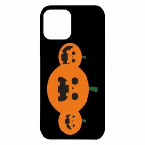Etui na iPhone 12/12 Pro Pumpkins with scary faces