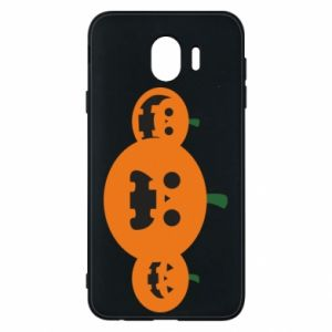 Phone case for Samsung J4 Pumpkins with scary faces - PrintSalon