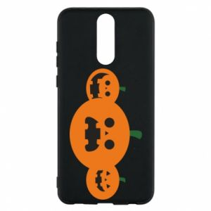 Phone case for Huawei Mate 10 Lite Pumpkins with scary faces - PrintSalon
