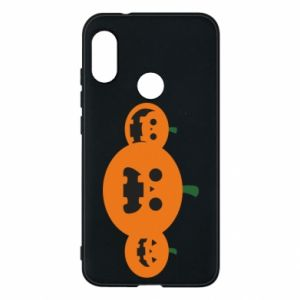 Phone case for Mi A2 Lite Pumpkins with scary faces