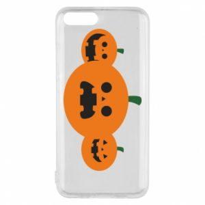 Phone case for Xiaomi Mi6 Pumpkins with scary faces - PrintSalon