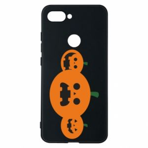 Phone case for Xiaomi Mi8 Lite Pumpkins with scary faces