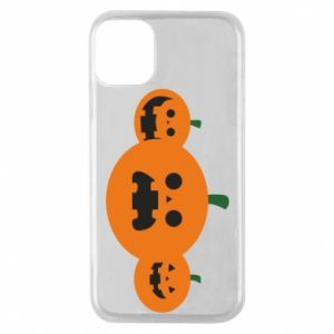 Etui na iPhone 11 Pro Pumpkins with scary faces