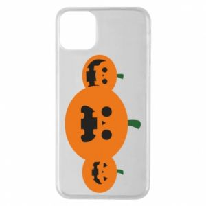 Etui na iPhone 11 Pro Max Pumpkins with scary faces