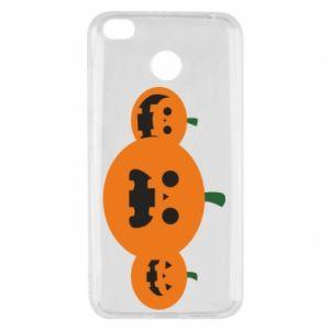 Etui na Xiaomi Redmi 4X Pumpkins with scary faces